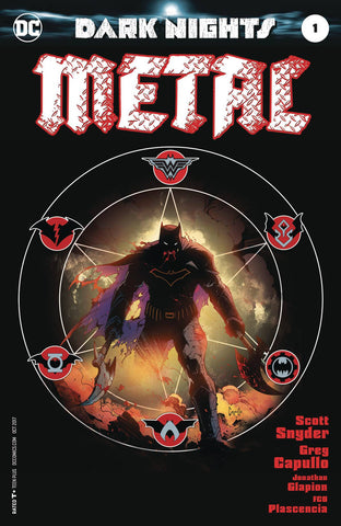 DARK NIGHTS METAL #1 (OF 6) MIDNIGHT RELEASE VAR A