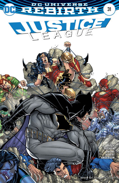 JUSTICE LEAGUE #31 VAR ED