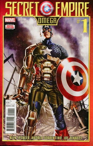 SECRET EMPIRE OMEGA #1 SE