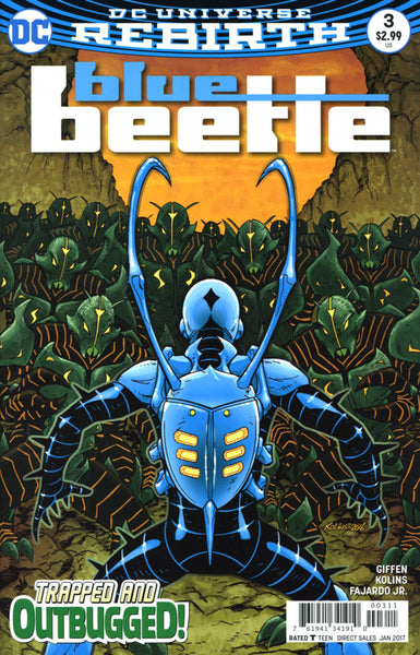BLUE BEETLE VOL 4 #3 COVER VARIANT A 1st PRINT