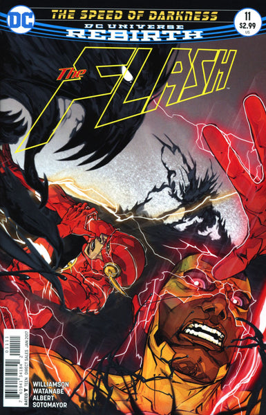 FLASH VOL 5 #11 COVER VARIANT A 1st PRINT