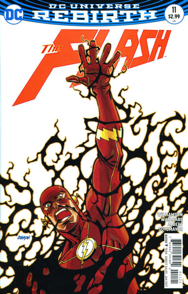 FLASH VOL 5 #11 COVER VARIANT B DAVE JOHNSON