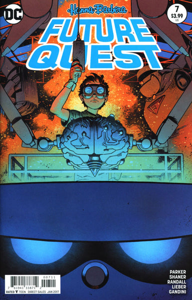 FUTURE QUEST #7 COVER VARIANT A 1st PRINT