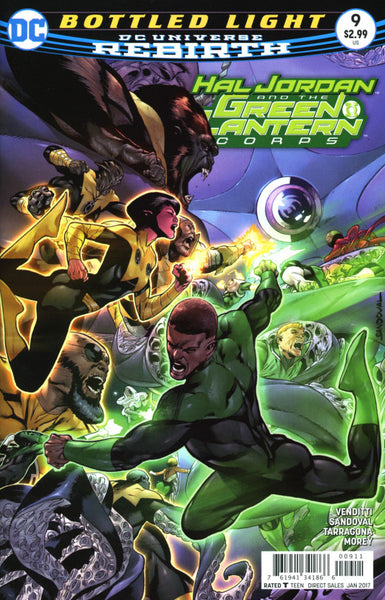 HAL JORDAN & THE GREEN LANTERN CORPS COVER A 1st PRINT