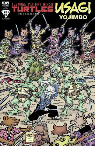 TMNT USAGI YOJIMBO FRIED PIE EXCLUSIVE
