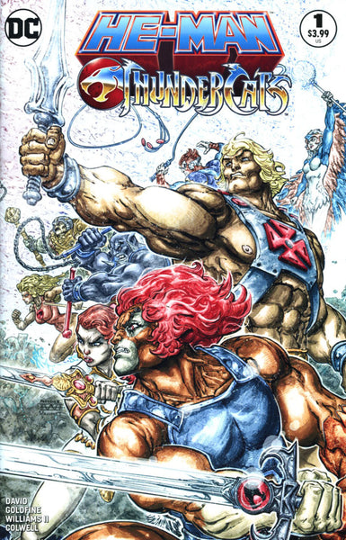 HE MAN THUNDERCATS #1 (OF 6) 2ND PTG