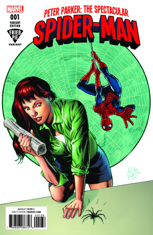 PETER PARKER SPECTACULAR SPIDER-MAN #1 FRIED PIE PERKINS VARIANT