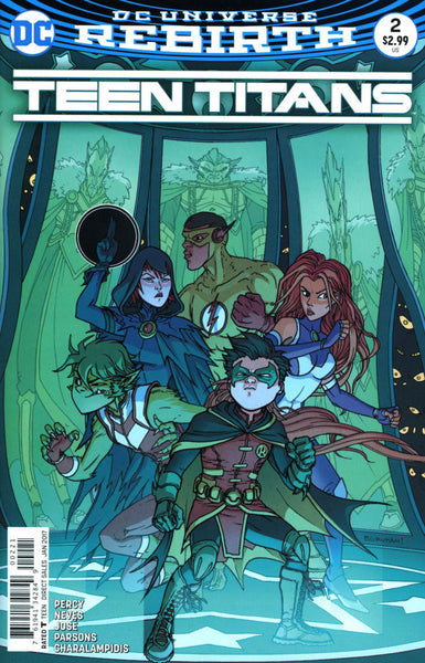 TEEN TITANS VOL 6 #2 COVER VARIANT B BURNHAM