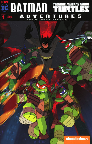BATMAN TMNT ADVENTURES #1 (OF 6) 2ND PTG