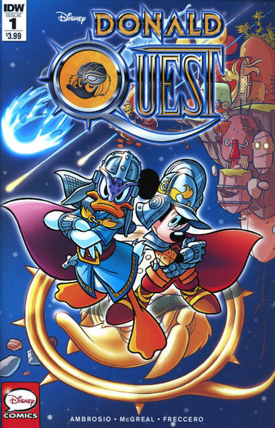 DONALD QUEST #1 OF 5 MAIN COVER