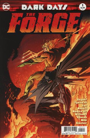 DARK DAYS THE FORGE #1 SDCC FOIL KUBERT VAR ED