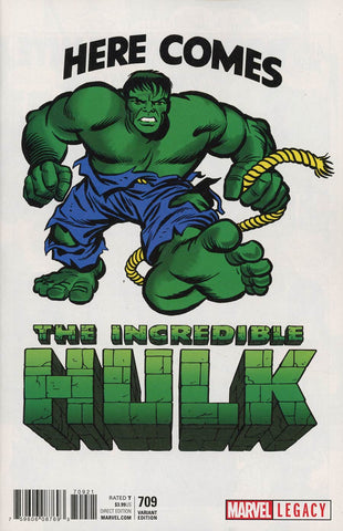 INCREDIBLE HULK #709 KIRBY 1965 T-SHIRT VAR LEG