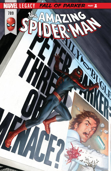 AMAZING SPIDER-MAN #789 LEG
