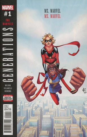 GENERATIONS CAPT MARVEL & MS MARVEL #1