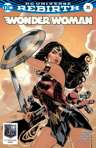 WONDER WOMAN #35 VAR ED