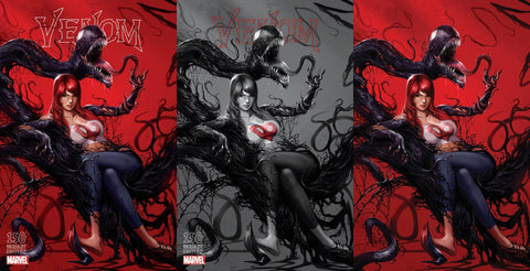 VENOM #150 ORLANDO MEGACON MATTINA VIRGIN 3 PACK VARIANT SET