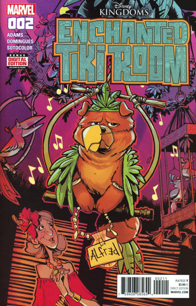 DISNEYS ENCHANTED TIKI ROOM #2 COVER A 1st PRINT