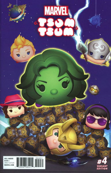 MARVEL TSUM TSUM #4 COVER VARIANT B CLASSIFIED CONNECTING D CVR
