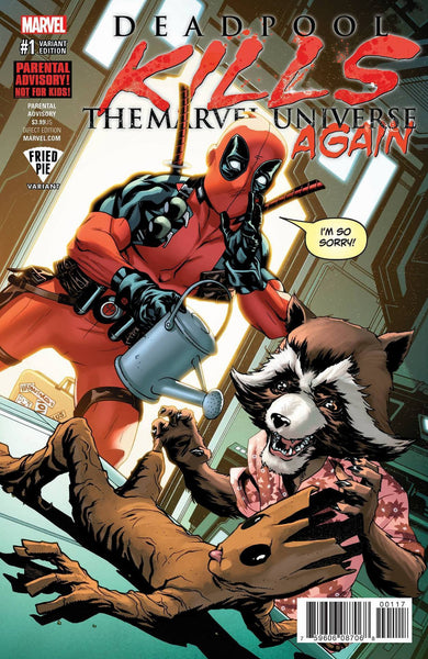 DEADPOOL KILLS THE MARVEL UNIVERSE AGAIN #1 FRIED PIE EXCLUSIVE