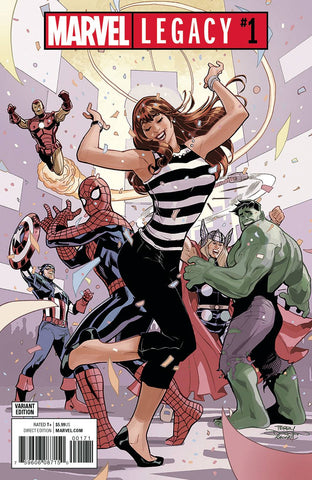 MARVEL LEGACY #1 PARTY VAR