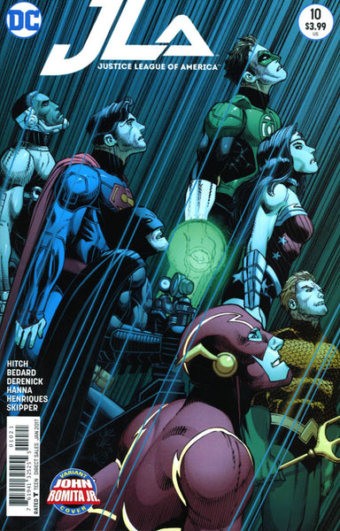 JUSTICE LEAGUE OF AMERICA #10 ROMITA VARIANT