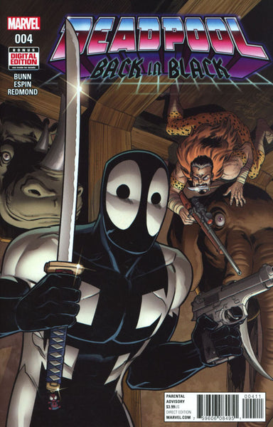DEADPOOL BACK IN BLACK #4 COVER A 1st PRINT