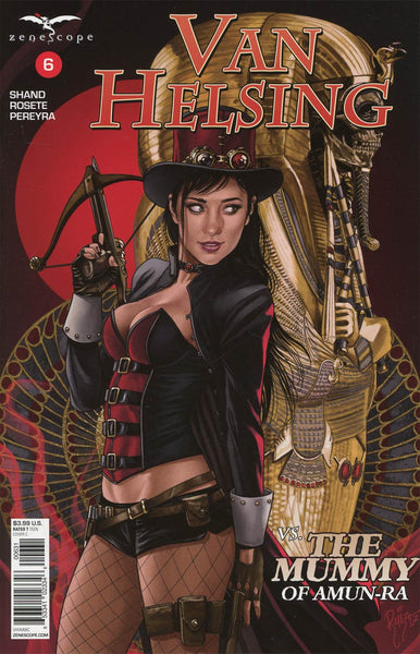 GFT VAN HELSING VS THE MUMMY OF AMUN RA #6 (OF 6) CVR C RUIZ