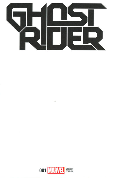 GHOST RIDER VOL 7 #1 COVER VARIANT D BLANK FOR SKETCH
