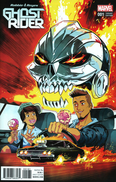 GHOST RIDER VOL 7 #1 COVER VARIANT G FILIPE SMITH