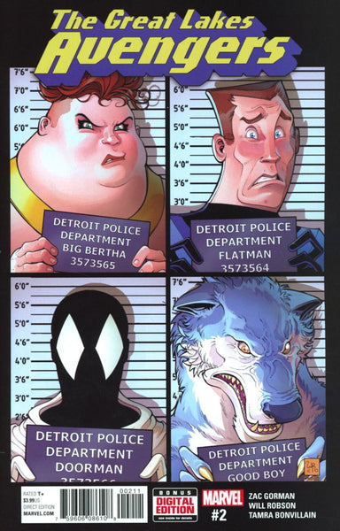GREAT LAKES AVENGERS #2 COVER A 1ST PRINT