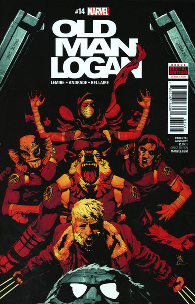 OLD MAN LOGAN VOL 2 #14 COVER A 1ST PRINT