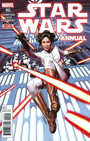 STAR WARS VOL 4 ANNUAL #2 COVER A 1st PRINT