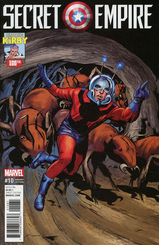 SECRET EMPIRE #10 (OF 10) KIRBY 100 VAR SE