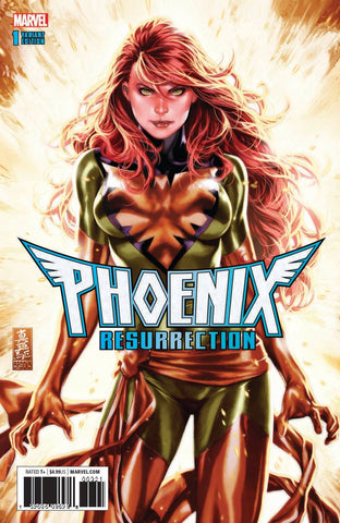 PHOENIX RESURRECTION RETURN JEAN GREY #1 (OF 5) MARK BROOKS EXCLUSIVE