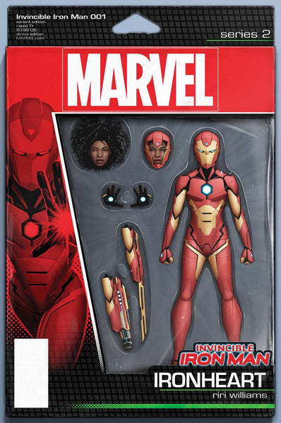 INVINCIBLE IRON MAN VOL 3 #1 COVER VARIANT C ACTION FIGURE