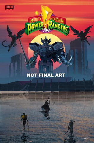 SDCC 2017 MIGHTY MORPHIN POWER RANGERS #17