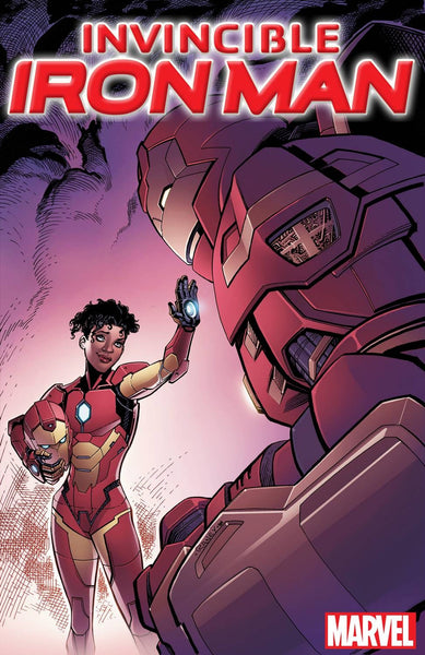 INVINCIBLE IRON MAN VOL 3 #1 COVER VARIANT E DIVIDED WE STAND