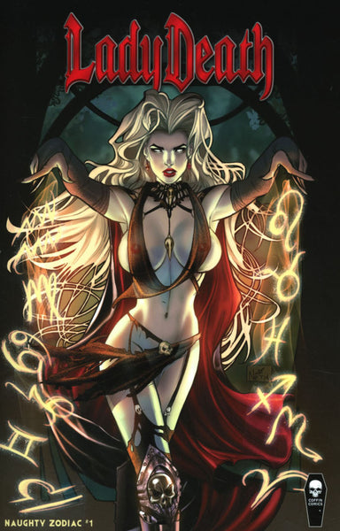 LADY DEATH ZODIAC #1 ALL NAUGHTY ED