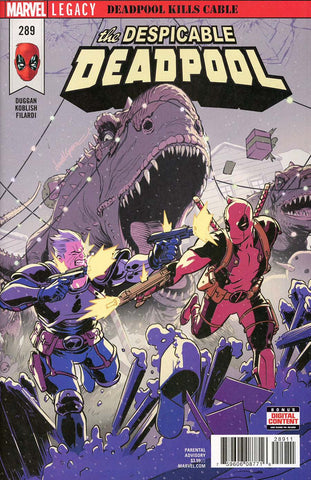 DESPICABLE DEADPOOL #289 LEG