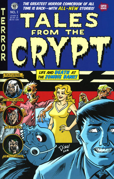 TALES FROM THE CRYPT #1 HASPIEL VAR