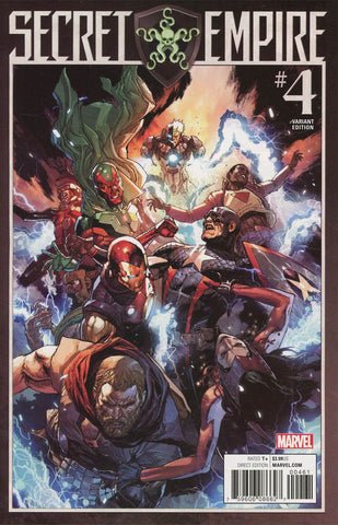 SECRET EMPIRE #4 (OF 9) LEINIL YU VAR