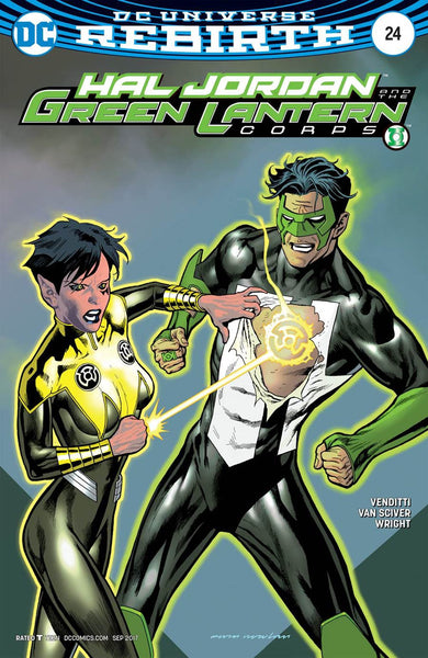 HAL JORDAN AND THE GREEN LANTERN CORPS #24 VAR ED