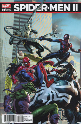 SPIDER-MEN II #2 (OF 5) SAIZ CONNECTING VAR B