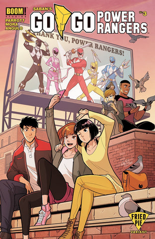 GO GO POWER RANGERS #3 FRIED PIE EXCLUSIVE