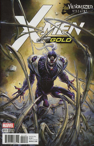 X-MEN GOLD #11 VENOMIZED OMEGA RED VAR