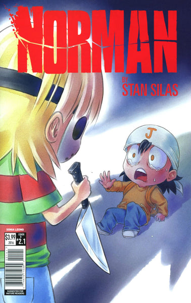 NORMAN THE FIRST SLASH #1 CVR D LEONG