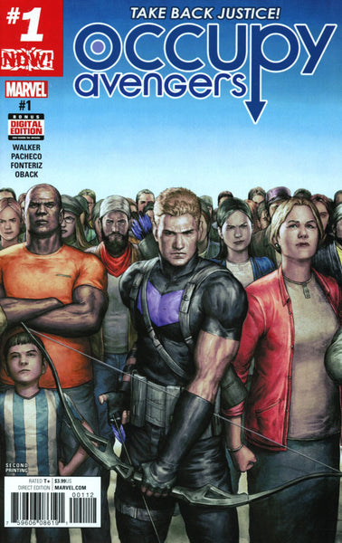 OCCUPY AVENGERS #1 2ND PTG ALESSIO VAR NOW