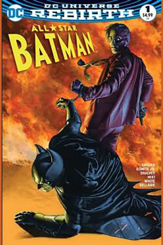 ALL STAR BATMAN #1 AOD RODOLFO MIGLIARI COLOR VARIANT