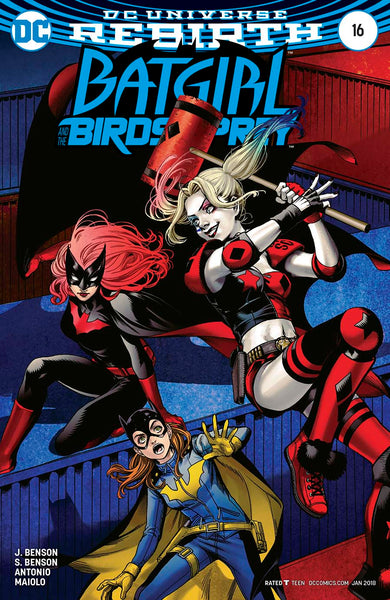BATGIRL AND THE BIRDS OF PREY #16 VAR ED