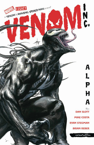 AMAZING SPIDER-MAN/VENOM VENOM INC ALPHA #1 DELLOTTO  LEG